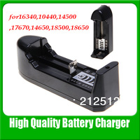 Miltifunction Single Battery Universal Charger For 1.2V 3.6V 3.7V Li-Ion Recharge Battery Charger for 18650,14500, 26650,10440