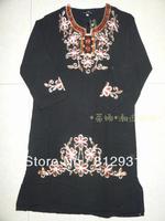 Free Shipping Ram55 Muslim Abaya With Embroidery,Diamond And Hijab/Jilbab,Arabia Dress For Children ,Islamic Clothing