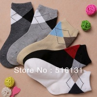 Free Shipping,5pair/lot,mix color,100% cotton spring and autumn British Style baby boys socks,children socks