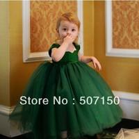 High-grade dress Child dresses puff dresses Flower girl dresses Kids princess dress Baby girl dresses Wedding party dress 2-8 T
