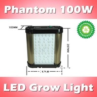 Phantom 100W LED plants grow light dimmable, red:blue=8:1, for indoor garden/ greenhouse (customizable)