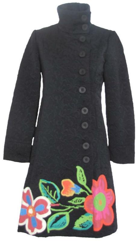 мода новый тренч черно-белой печати пальто
