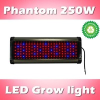 Phantom 250W LED plant grow light dimmable, red:blue=8:1, for flowers/ medical plants hydroponic systems (customizable)