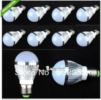 10pcs E27 LED Bubble Ball Bulb  E14 GU10 B22 9w 12W 15w led Ball steep light bulb lamp High Power Energy Saving Bulb Lamp