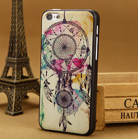 Luxury 3D painting tower Case for apple iphone 5c cover iphone5c Cases i phone 5 c covers skin Free Shipping