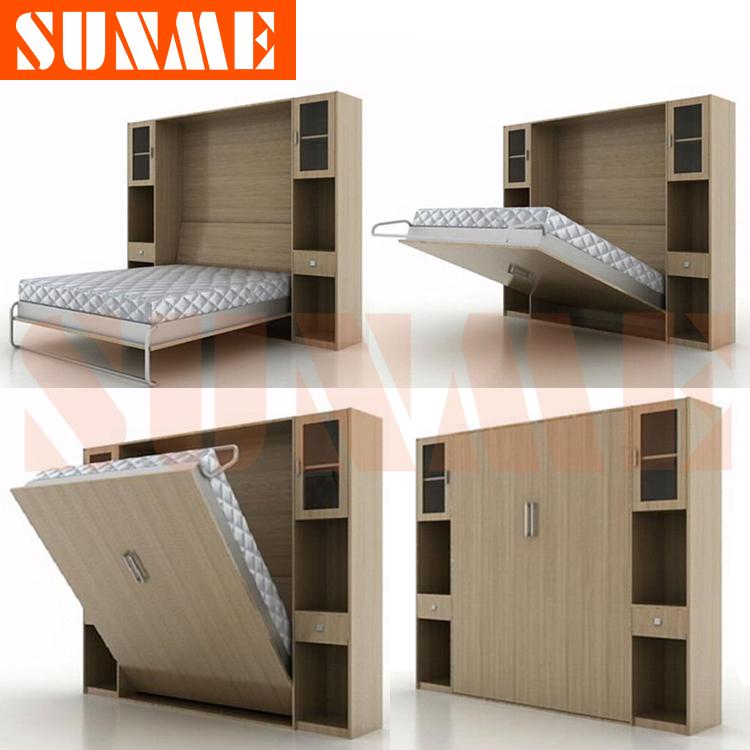 Folding Double Twin Murphy Beds 750 x 750