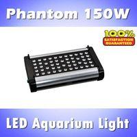 Phantom 150W LED aquarium led lighting, dimmable & timer, blue: white =1:1/2:1/1:2 programmable reef led (customizable)