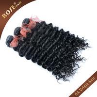 "6A rose Virgin Hair weave,12-28"" 3bundles/lot Rosa deep curly Virgin Brazilian Hair Extensions,No processed human hair weave"