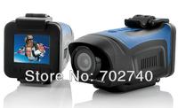 New Full HD 1920x1080P Waterproof Car Bike Sports Helmet Action Dash Camera Cam DVR Free Shipping