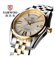 2015 Sale Watches Automatic Watch Switzerland Eta2836 Movement Self Wind Mechanical Waterproof Sapphire Back Light Luxury Gift
