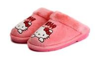 Sanrio Hello Kitty new 2014 Women Home Slippers Hello Kitty  New Fashion Women's Wistiti Indoor Slippers