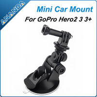 Free Shipping GoPro Car / Window Mount Suction Cup Tripod With Handle Screw For GoPro HD Hero, Hero2, Hero3
