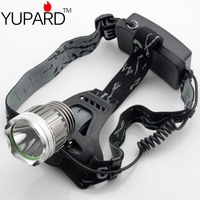 CREE XM-L XM-L2 2000Lm LED Headlamp Rechargeable Headlight super T6
