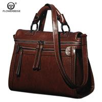 2015 Women Messenger Bag Fashion Shoulder Bag Vintage Crossbody Bag Genuine Leather Bags Women Leather Handbag Tote Bolsas