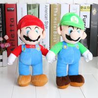 1Piece 10'' Super Mario High Quality Super Mario Soft Plush MARIO LUIGI MARIO BROS PLUSH DOLL retail
