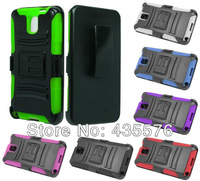 Robotic Belt Clip Multi Color Hybrid Impact Dual Layer Kickstand Hard Soft Case Cover For Samsung Galaxy Note 3 N9000  2013 New