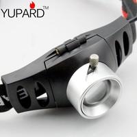 YUPARD Sale Ultra Bright 500 Lumen CREE Q5 LED Headlamp Headlight Zoomable free shipping