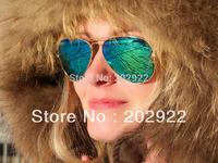 2013 newest Fashion classics Vintage 3026 colorful Mirror Men women sunglasses brand designer reflective sunglass free ship