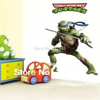 kids cartoon sticker for Teenage Mutant Ninja Turtles vinyl wall decor ,Boys room stickers,home decals mural k004 Free shipping