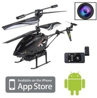 (Clearance Sale: FREE SHIPPING)iPhone/iPad/iPod control camera helicopter 3.5CH WL s215/s988 rc helicopter