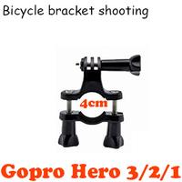 Gopro bike bracket holder,sports photography GOPRO 1/2/3 mounting bracket,motorcycle bicycle handlebar tube socket Gopro bracket