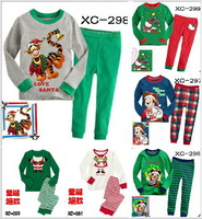 baby christmas pajamas set children tiger pyjamas mickey sleepwear hello kitty pijamas boy's girl sleepwear tracksuit nightwear