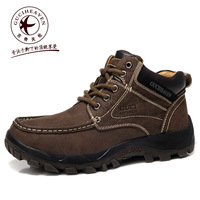 Guciheaven 2013 winter outdoor boots ,men's casual boots, Male leather shoes
