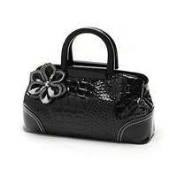 New 2013 fashion crocodile pattern  women leather handbags  PU leather bag for women  free shipping