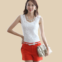 Sexy Lace Tank Top High Quality Modal Fabric Sweet Camisole Women's Fashion Waistcoat 100% Cotton Plus Size Free Shipping