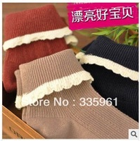 Mori  wholesale cotton socks retro flanging Princess socks heap of socks / random