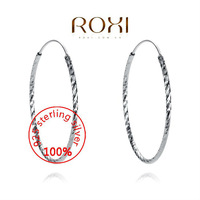 ROXI Sterling silver Fine Jewelry 925 Silver AAA CZ Modelling Rounded Starfish Beauty Earrings302017920