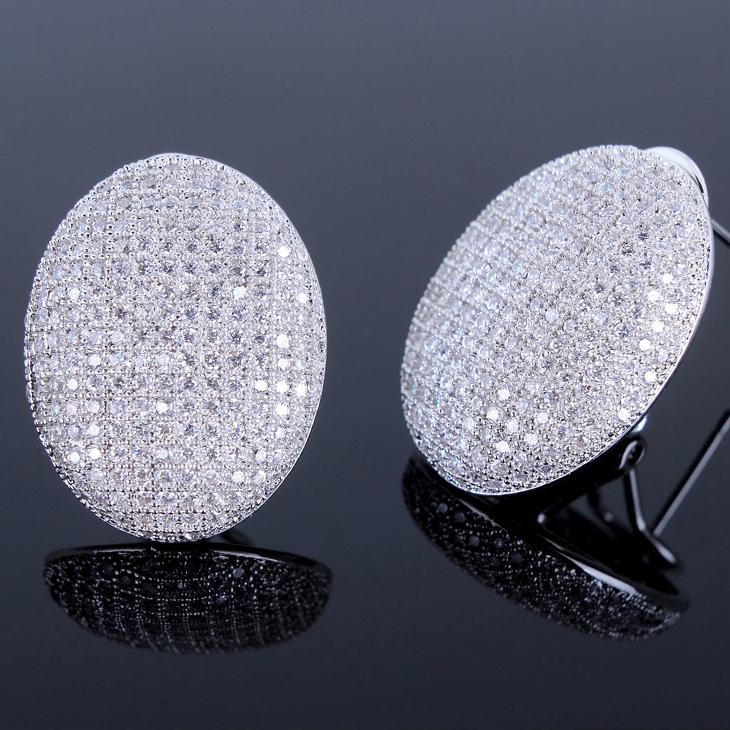 Oval Diamond Earrings Studs Oval Shaped Stud Earrings