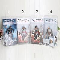 "NECA Assassin's Creed II EZIO Black&White 7"" PVC Action Figure Toys Dolls Chritmas Gift"
