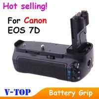 For Canon EOS 7D BG-E7 BGE7 Battery Grip DSLR Camera Free Shipping