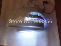 LED Dedicated rear-view mirror lights+cover, turn signals,DRL, as ground lamp for LAND CRUISER CYGNUS and LEXUS LX470 1998~2006