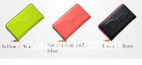 DERS  genuine female models Wallet women wallets European style big LOGO solid color zipper wallet