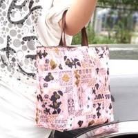 3493 Min order $10 (mix order) free shipping 2013 fashion big flower floral handbag retaining fresh ice lunch bag