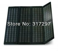 Free Shipping 80 watt 18v Folding Solar Panels Complete Kits 12 volt Solar Battery Charger Portable Laptop Solar Charger