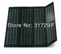 Free Shipping 80 watt 18v Folding Solar Panels Complete Kits 12 volt Solar Battery Charger Portable Laptop Solar Charger