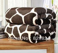 Coral fleece  home textile blanket flange fleece  casual blanket bed sheets thickening FL fleece blanket