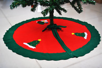 90cm snowman tree skirt christmas tree skirt christmas tree decoration Christmas supplies 90g