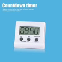 wholesale Portable Professional Electronic Large LCD Screen Countdown Timer Kitchen Timer  Free shipping