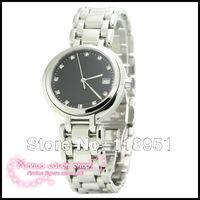 Hot new luxury diamond scale business calendar quartz mechanical watches sapphire Ms. Steel Swiss brand couple watches L153