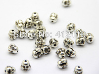 Free Shipping Wholesale Antique Silver Buddha Charms Beads Metal Laughing Buddha Beads
