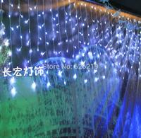 EU Plug 220V-240V 4m *0.4* 0.5*0.6*0.7m Led icicle lights Curtain light for Christmas/Xmas newyear lighting decoration