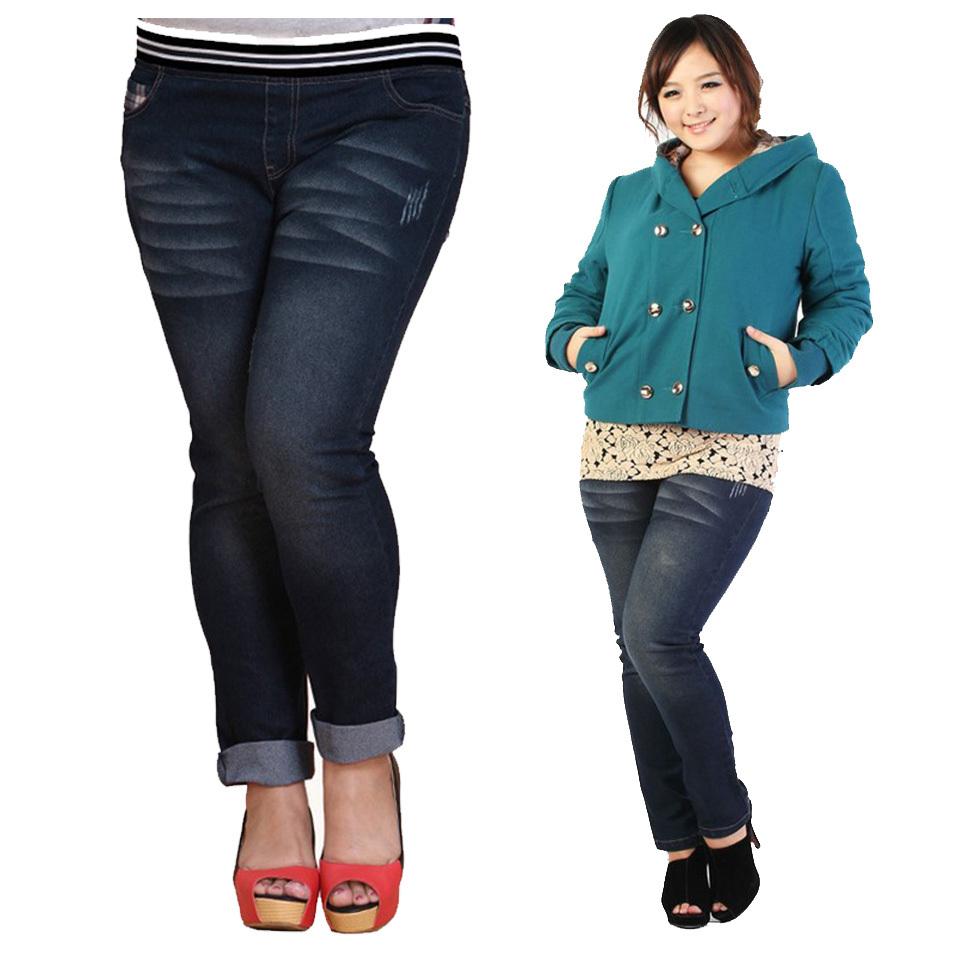 Hot Plus Size Jeans - Jeans Am