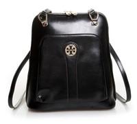 2015 HOT Designer Fashion Korean Style College Women Backpacks Trendy Tops Real Leather Ladies Travel Knapsacks Free Shipping