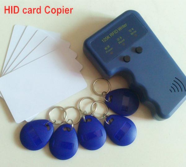 Handheld 125Khz RFID Honeywell proximity card Copier portable Duplicator Cloner H ID reader & writer + 10pcs cards and tags(China (Mainland))