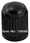 1000 pcs/lot Black Plastic Tire Valve Cap Car Tire Valve Stem Cover 8V1 Threads Wholesale China Post Free Shipping