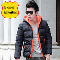 Free shipping men down jacket  wadded  men  Men's coat  Winter overcoat Outwear Winter jacket wholesale promotion